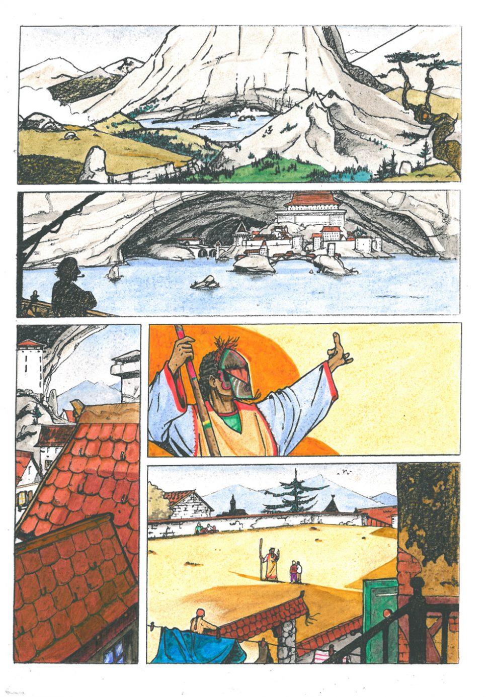 Projet MISATOL par Samuel LOUART - Version 2 - Planche 1